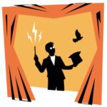 Le Cabaret des 2 mondes (logo) - Escape Game