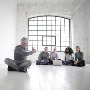 Team building - White room